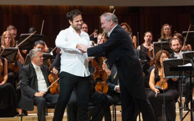 Marc Bouchkov wins the 2nd Prize & Silver Medal at the  16th International Tchaikovsky Competition!