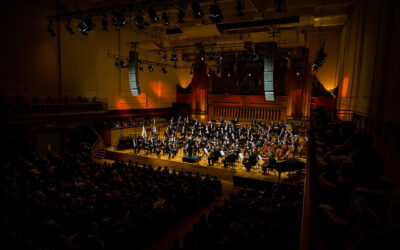 Marc Bouchkov played Mendelssohn Violin Concerto with Brussels Philharmonic under the baton of Nikolaj Szeps-Znaider